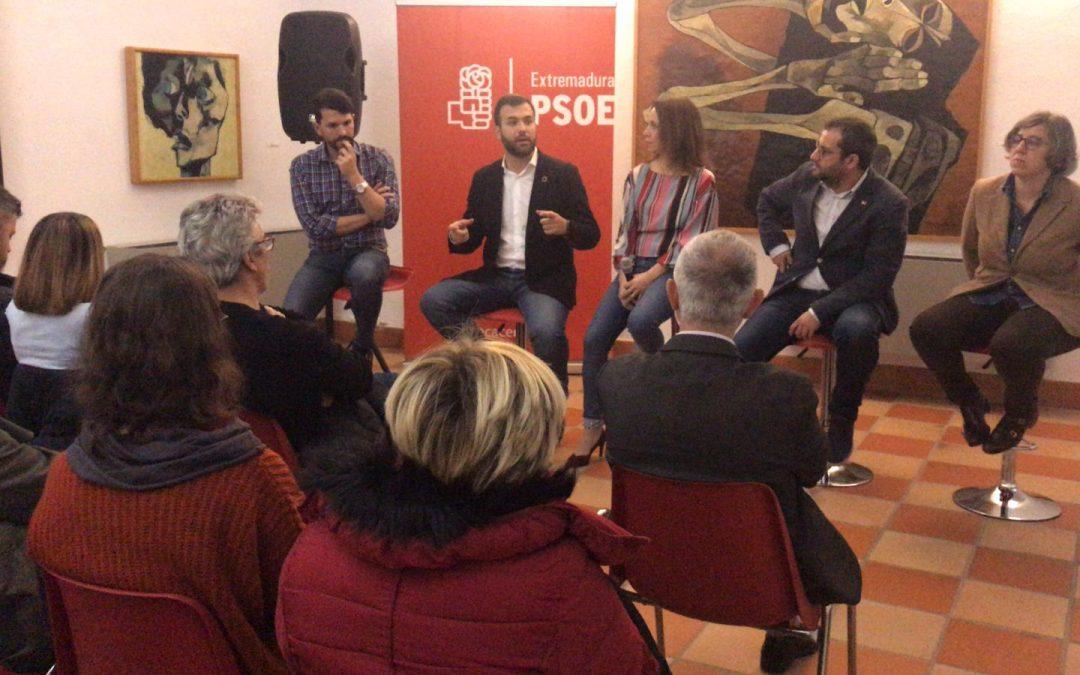 Luis Salaya se compromete a que la cultura sea el motor de transformación social económico de Cáceres