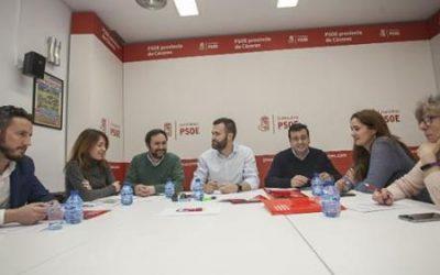 Luis Salaya se reunirá con Diputados y Senadores para pedir la defensa de Cáceres en los PGE