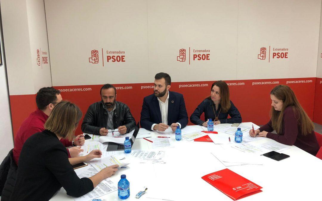 Luis Salaya destaca la apuesta de la Junta de Extremadura por la ciudad en los Presupuestos de la Comunidad