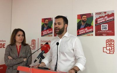 """Luis Salaya: """"Es el momento de un cambio solvente que vuelva a hacer de Cáceres una ciudad abierta y colorida"""""""