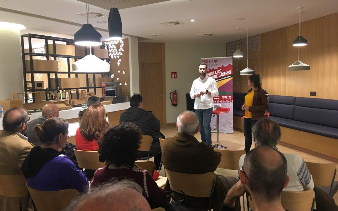 Luis Salaya apuesta por la promoción deportiva no solo de base sino como un nicho generador de actividad económica y empleo
