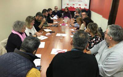 El PSOE de Cáceres da luz verde a iniciar las negociaciones con Ciudadanos para buscar un Gobierno estable encabezado por Luis Salaya